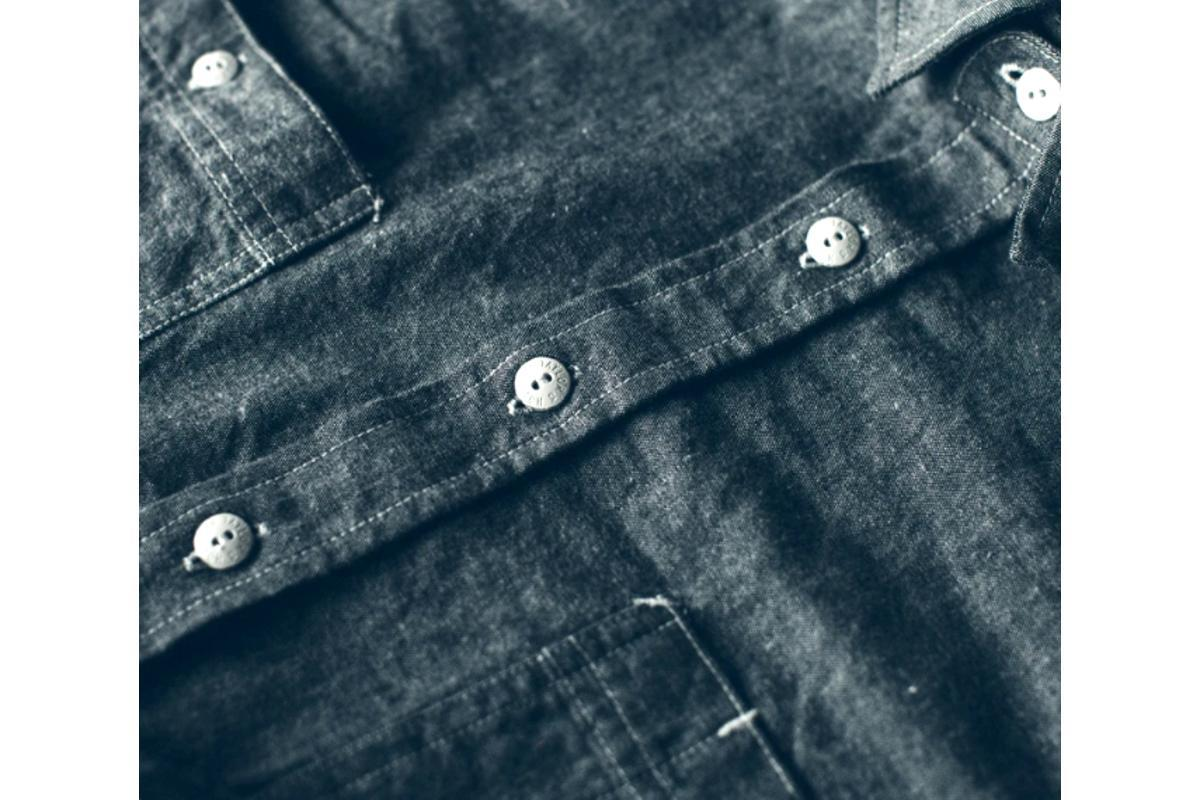 The California Charcoal Everyday Chambray-Taylor Stitch-MILWORKS