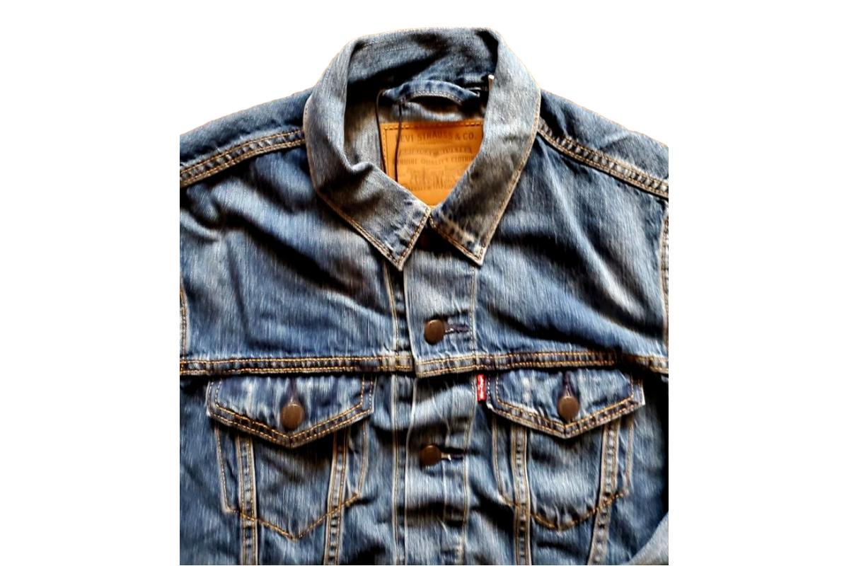 The Trucker Jacket Mayze-Levis Red Tab-MILWORKS