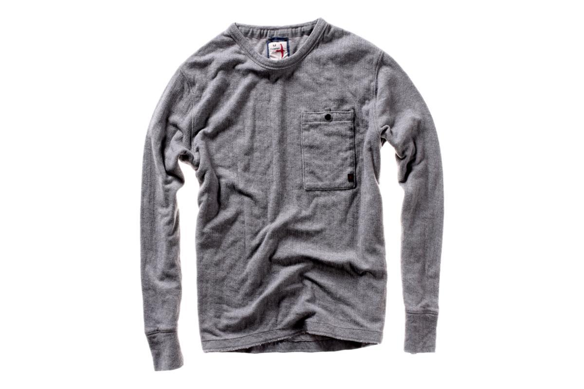 Thermal Pocket Crew Grey Heather-Relwen-MILWORKS