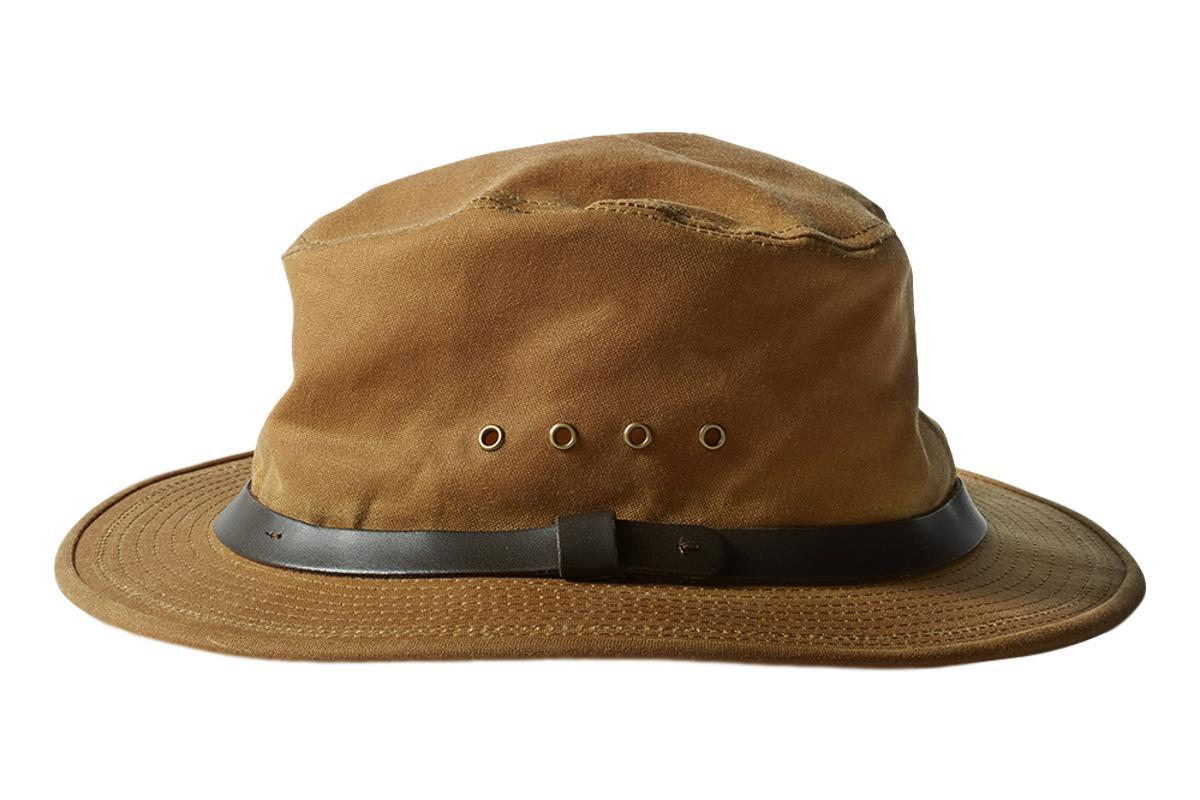 Tin Packer Hat Dark Tan-Filson-MILWORKS