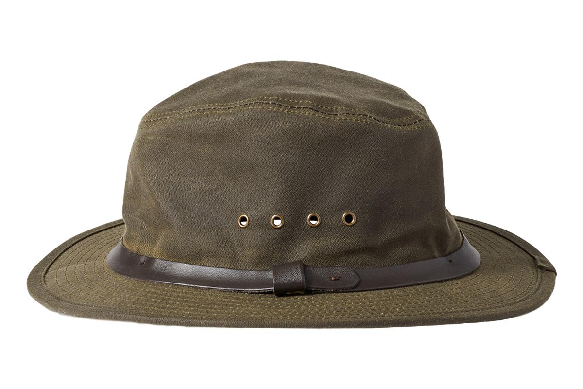 Tin Packer Hat Otter Green-Filson-MILWORKS