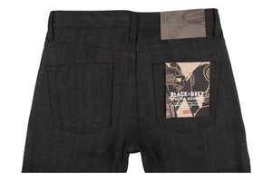 Weird Guy Black x Grey Stretch Selvedge-Naked & Famous Denim-MILWORKS