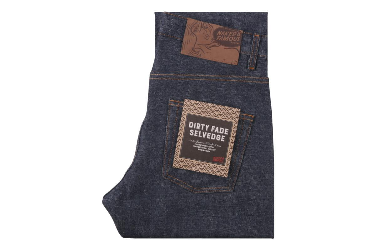 Weird Guy Dirty Fade Selvedge-Naked & Famous Denim-MILWORKS