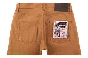 Naked & Famous Denim Weird Guy Duck Canvas Selvedge