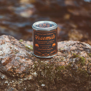Yosemite Candle Cedarwood, Amber Orange & Spice-Good & Well Supply Co.-MILWORKS