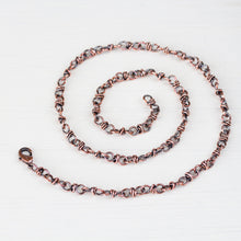 Load image into Gallery viewer, Handcrafted Copper Necklace - Bigger Link Chain - jewelry by CookOnStrike