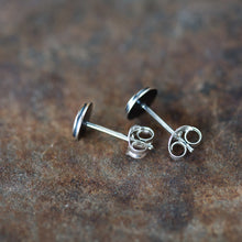 Load image into Gallery viewer, 6mm Target Bullseye Studs - jewelry by CookOnStrike