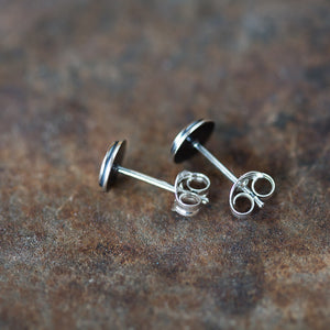6mm Target Bullseye Studs - jewelry by CookOnStrike