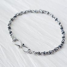 Load image into Gallery viewer, Minimalist Sterling Silver Chain Bracelet, Sterling Silver - jewelry by CookOnStrike