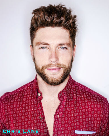 "Full Color Chris Lane Poster 8"" by 10"""