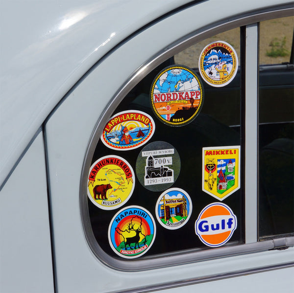 Car stickers are typically a fun and creative way of dressing up a vehicle but theyre also an extremely effective form of business advertising
