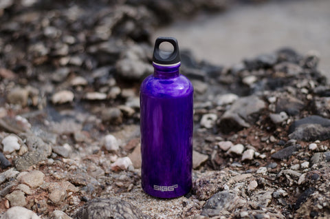 Water Bottle on the ground