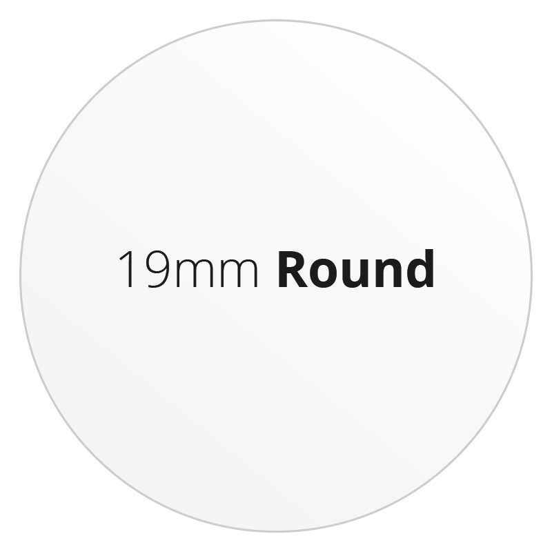 19mm Round - Premium Paper - Printed Labels & Stickers - StickerShop