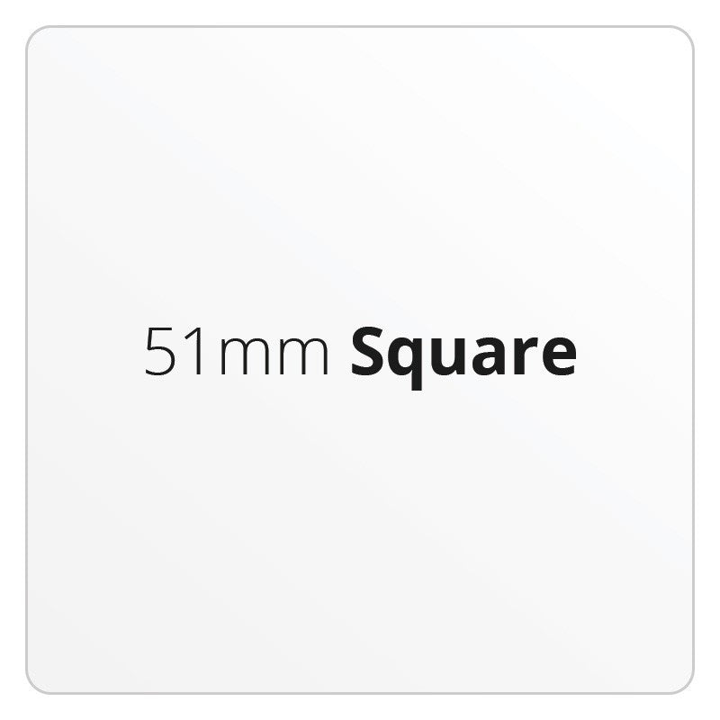 51mm Square - Premium Paper - Printed Labels & Stickers - StickerShop