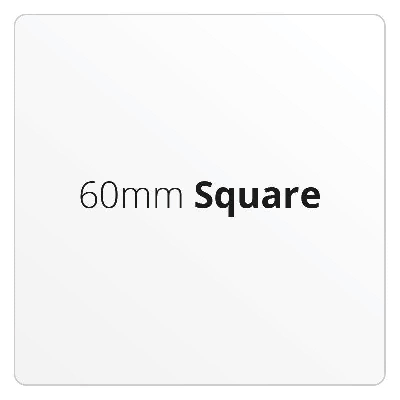 60mm Square - Premium Paper - Printed Labels & Stickers - StickerShop