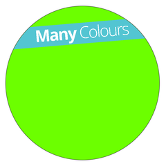 Round - Fluorescent Vinyl - Printed Labels & Stickers