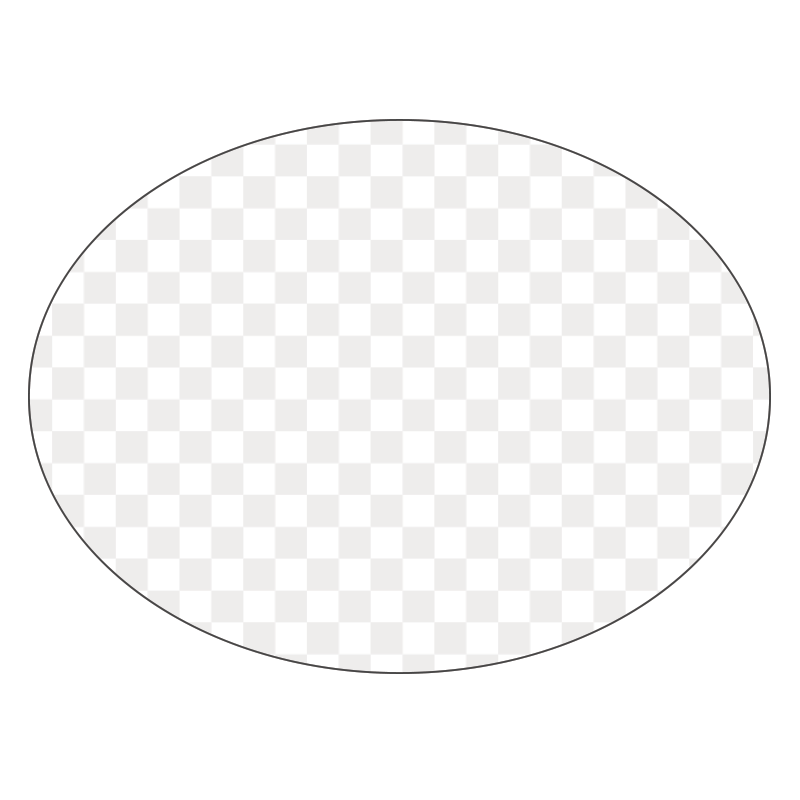 Oval - Clear Window Cling - Printed Labels & Stickers - StickerShop