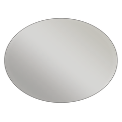 Oval - Metallic Silver Vinyl - Printed Labels & Stickers