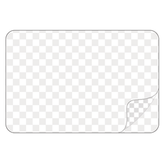 Rectangle - Clear Laminated Vinyl - Printed Labels & Stickers