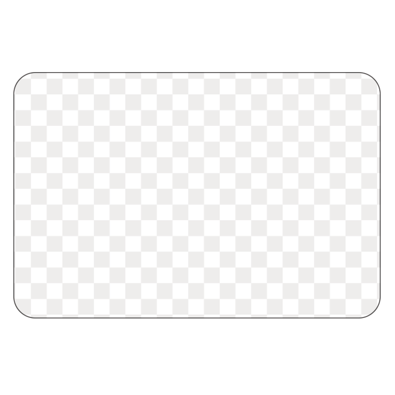 Rectangle - Clear Window Cling - Printed Labels & Stickers - StickerShop