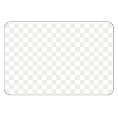 Rectangle - Clear Window Cling - Printed Labels & Stickers