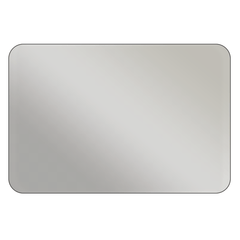 Rectangle - Metallic Silver Vinyl - Printed Labels & Stickers