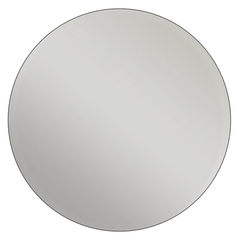 Round - Metallic Silver Vinyl - Printed Labels & Stickers
