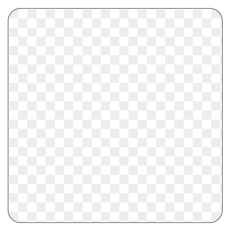Square - Clear Waterproof Vinyl - Printed Labels & Stickers - StickerShop