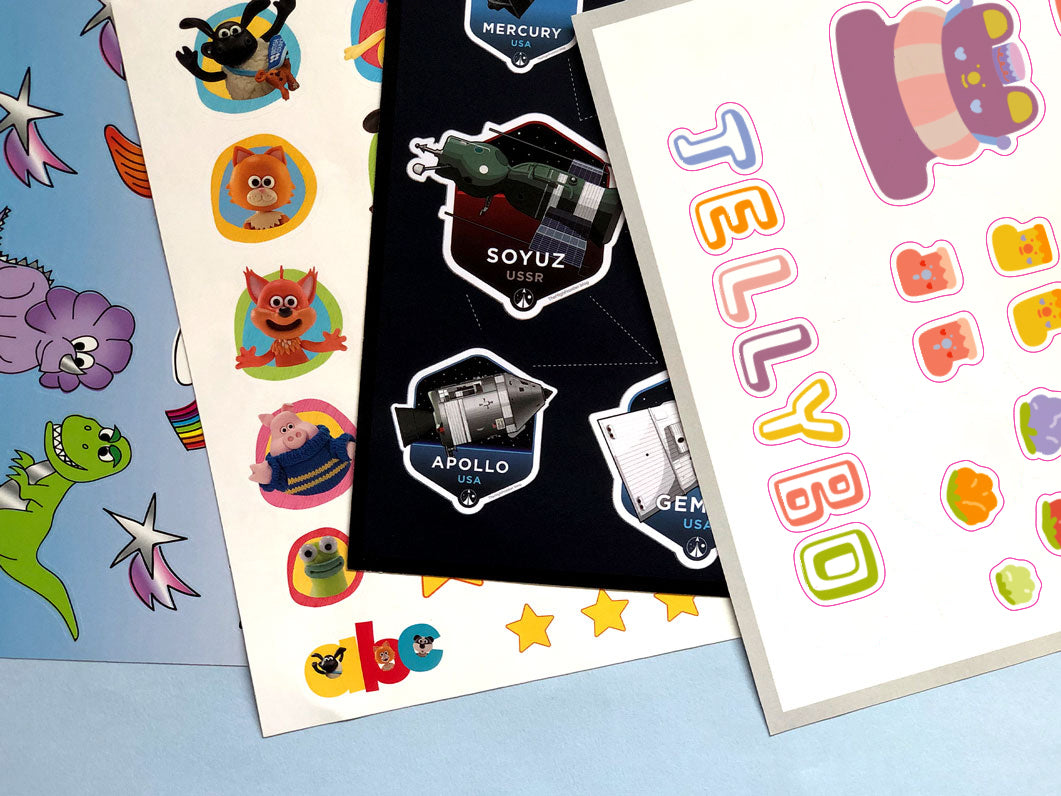 Printed Sticker Sheets