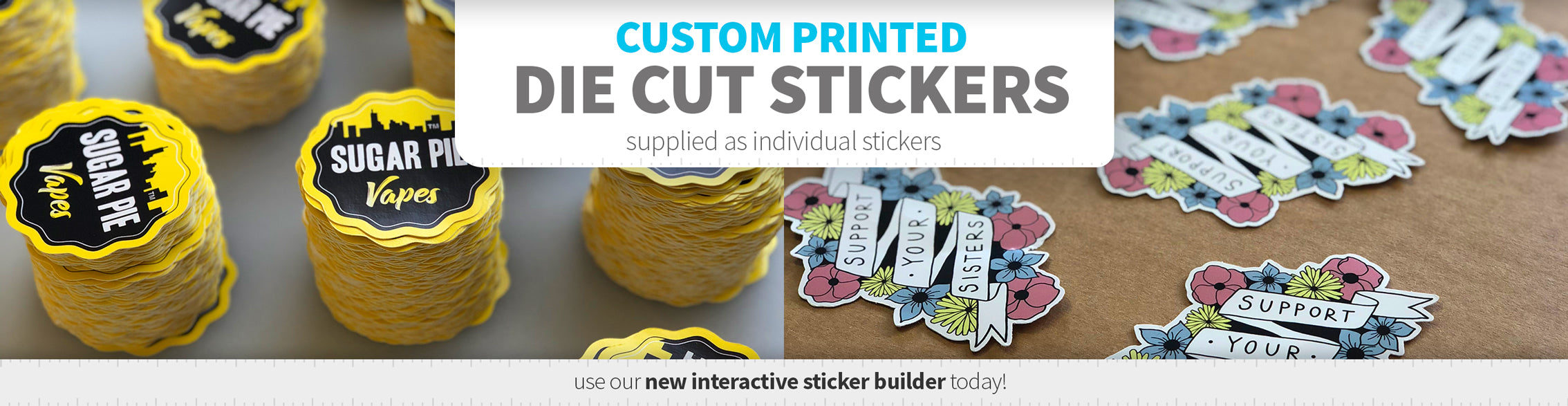 Cheap printing uk printed vinyl labels custom stickers