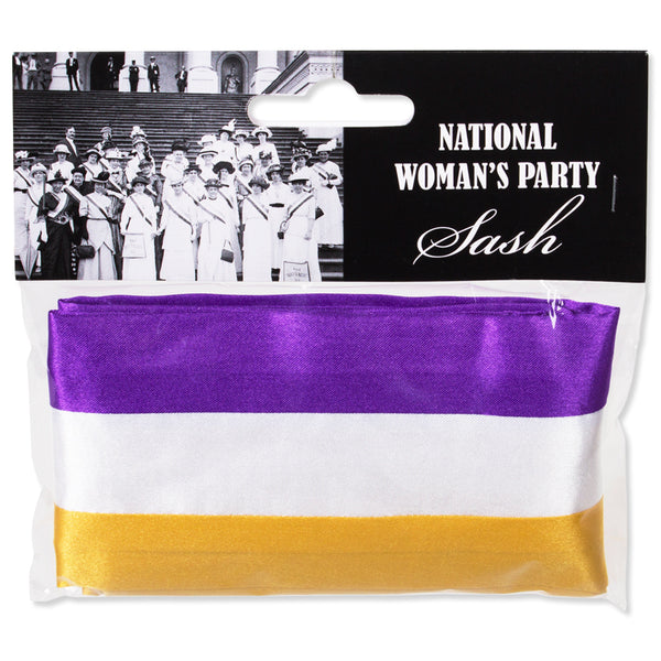 National Woman's Party Suffrage Sash