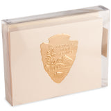 Arrowhead Gold Embossed Note Cards