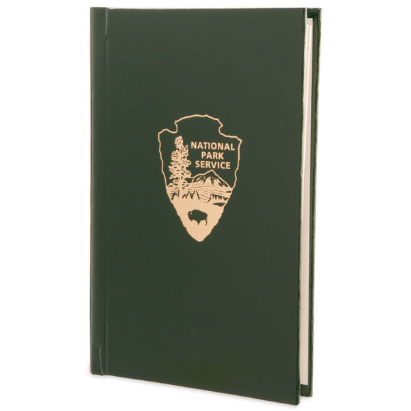Arrowhead Green Bonded Leather Journal