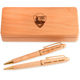 Arrowhead Maple Wood Pen Set