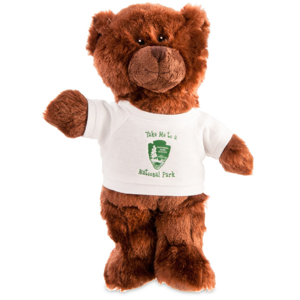 Brown Teddy Bear with Arrowhead T-Shirt