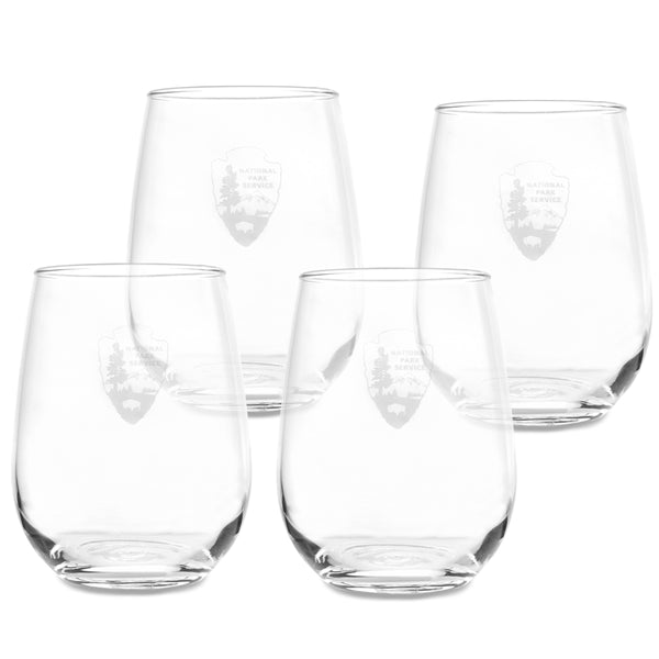 Stemless Glassware Set