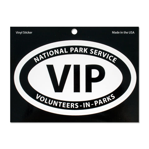 Volunteers-In-Parks Vinyl Sticker