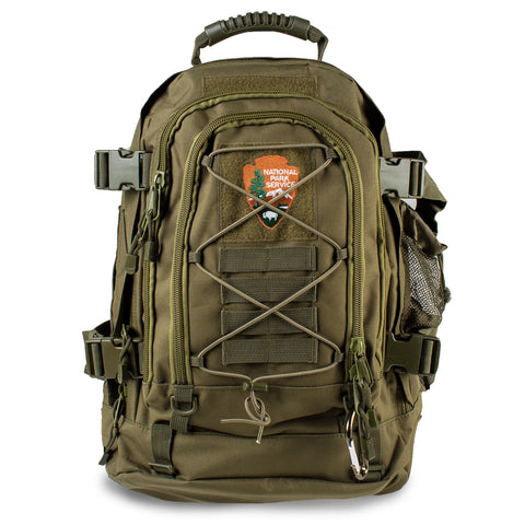 Arrowhead Green Expandable Tactical Backpack