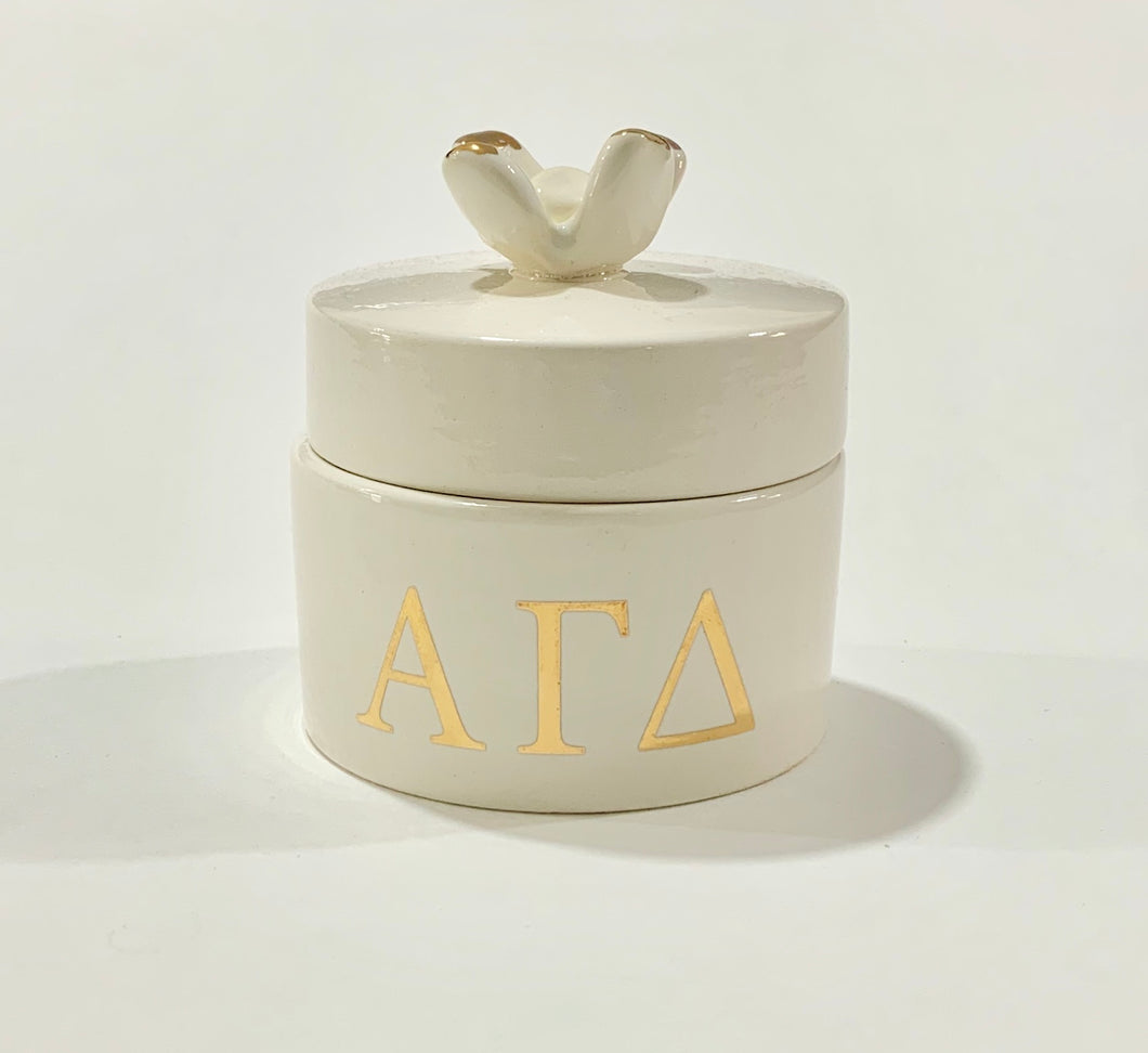 Alpha Gamma Delta pin box
