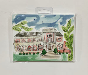 Alpha Phi Sorority House Notecard Set