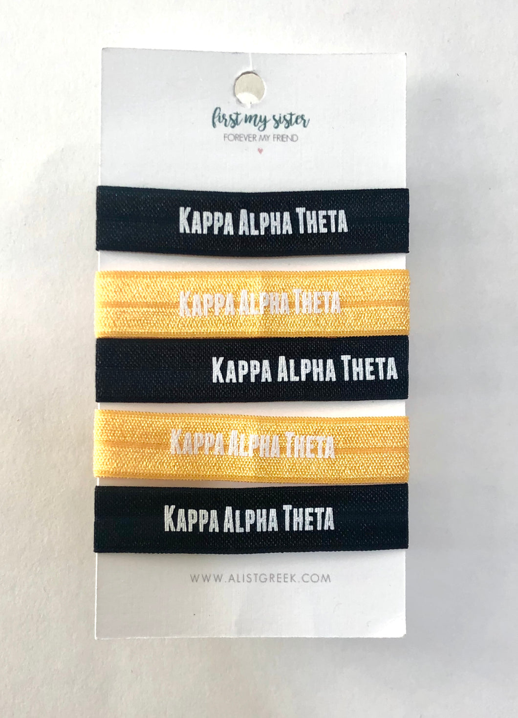 Kappa Alpha Theta Hair Ties