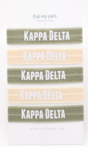 Kappa Delta Hair Ties