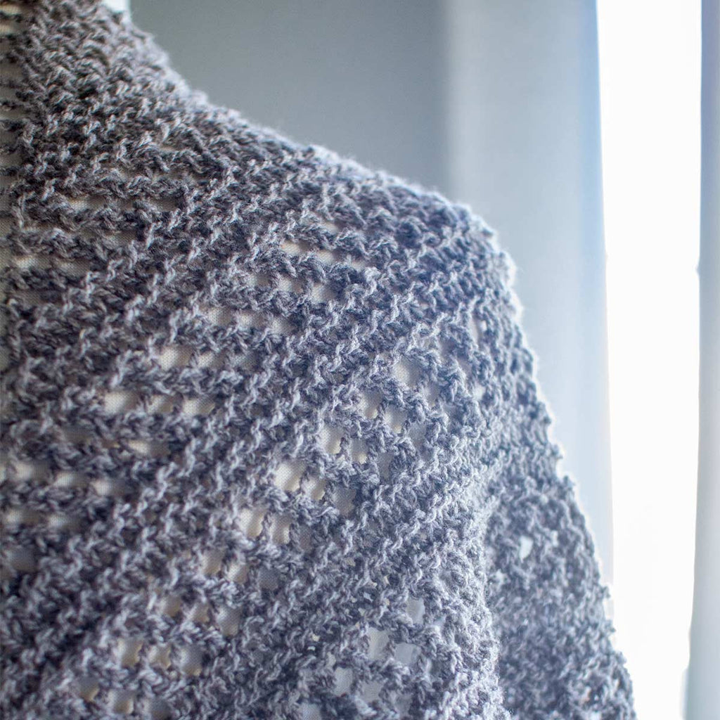 KŌSATEN Shawl Kit (Knit)