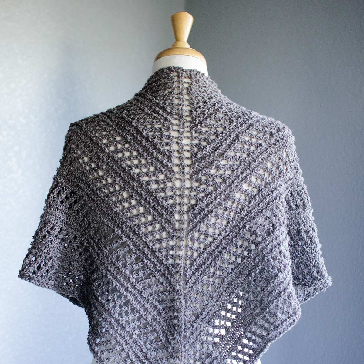 Ksaten knit openwork shawl argyle sheep ksaten shawl pattern knit bankloansurffo Image collections