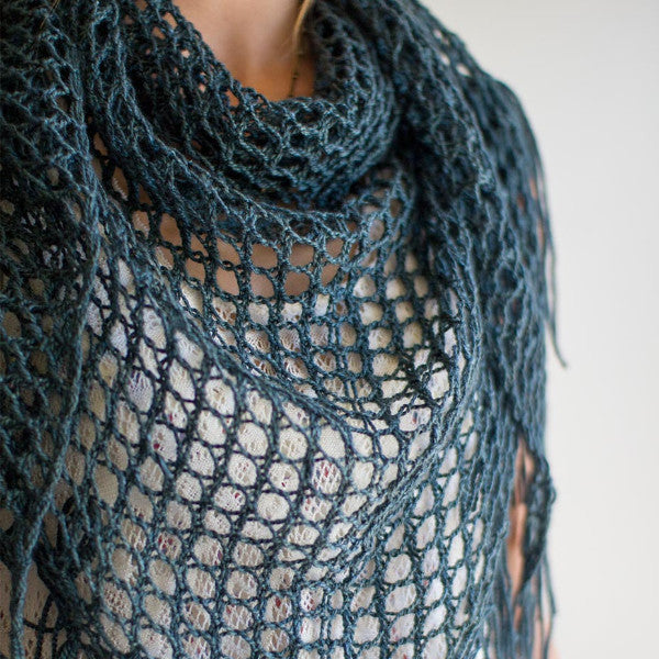 Sweetgum Shawl Pattern (Knit)