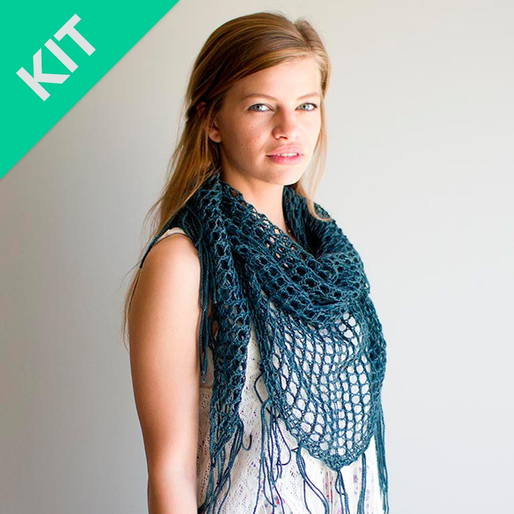 SWEETGUM Shawl Kit (Knit)