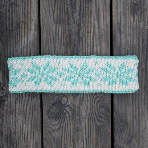 UME Knit Fair Isle Headband Pattern (Knit)