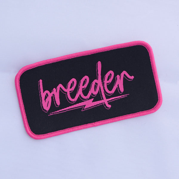 BREEDER Iron-On Patch
