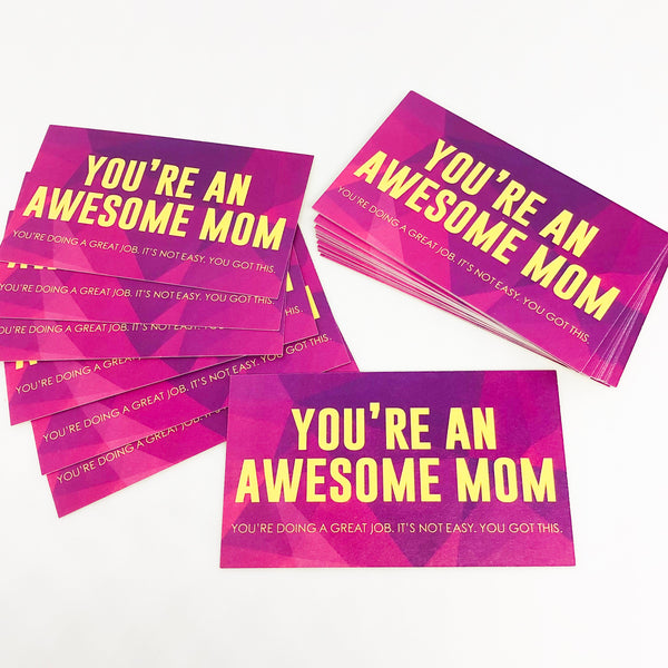 Stack of Mom Karma Cards