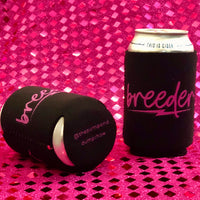BREEDER beer koozie